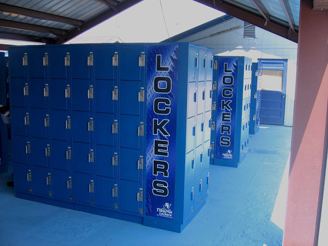 Use Tiburon Lockers at Events