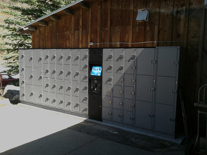 Tiburon Lockers at Ski Resorts