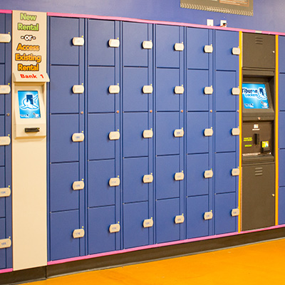 Tiburon Lockers fits indoors or outdoors