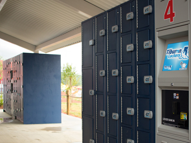 Find Tiburon Lockers in many locations