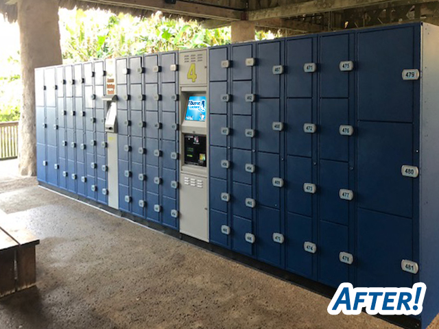 Tiburon Lockers upgrades your lockers from any other